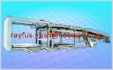 De panier case hydraulique vers le bas avec couche la seule ou de Doubel