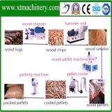 バンヤンノキ、やし、樟脳の生物燃料のための木製の原料の餌の生産ライン