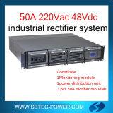 Gelijkrichter voor gelijkstroom Load en Battery Charge 48V 50A