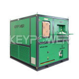 Keypower 1000kw widerstrebende Eingabe-Bank-Gelb-Farben-Generator-Set-Prüfung mit Cer-Bescheinigung