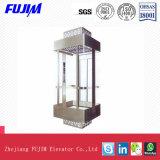 Ascenseur de passager de Roomless de machine d'énergie et de l'espace d'économie