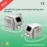 Elight IPL Epilation professionnel et Q-Switch Swicth Tattoo Removal Equipment