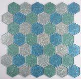 Mosaico del hexágono de Handpainting para la pared