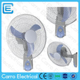 セリウムCertificateとの16インチWall Mounted Solar Battery Wall Fan