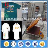 Machine de transfert manuelle de presse de la chaleur de T-shirt de certificat de la CE