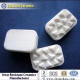 Alumina peças de cerâmica com tecnologia Carving
