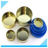 Metallischer Zinn Can_for 100g Kaviar