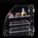 Qualité personnalisée présentoir acrylique de pain de 3 couches