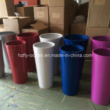 Fo-208 Tapered Tall Fiberglass Flower Pot
