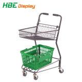 Carrinho de Compras de supermercado da Cesta duplo