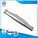 Geschmiedete hohe Präzision CNC-maschinell bearbeitende Stahlwelle für industrielles Gerät