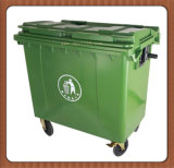 Lid Manufacturer를 가진 중국 660L High Quality Plastic Industry Dustbin