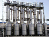 Effect Multi- Evaporator Evaporation Plant per Wastewater, Food Processing, Chemicals