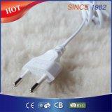 Riscaldamento elettrico Underblanket del panno morbido della peluche con la protezione contro il calore eccessiva