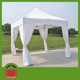 Sidewallsの白いGazobo Folding Tent