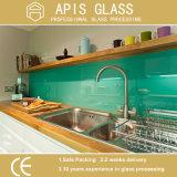 ガラスRoHS対応着色された陶磁器のフリットにされた印刷のガラス台所Backsplash Worktop