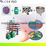 Xlb 550X550X4 Gummiauto-Matte, die Maschine herstellt