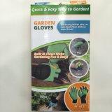 Hete Verkoop Overhandigd de Handschoenen van het Genie van de Tuin met Plastic Vingertoppen