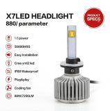 880/881 CREE LED Scheinwerfer-Xenon weißes 80W für niedrigen Träger