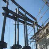 Construction en acier préfabriquée de Commerical de qualité avec la base ronde
