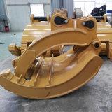 Excavadora Cat345D de pinza de agarre mecánico, Manual, mecánica Grab, tenazas manuales