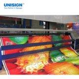 Haining 220gsm-610GSM Frontlit mat brillant d'impression de solvant PVC Flex Banner