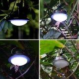 60 LED Solar portátil de la luz de la noche de camping de la luz de la tienda colgantes Lampara de pared