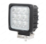 """Lámpara resistente cuadrada ligera del trabajo del coche 48W 4 """" LED"""