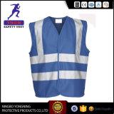 Blauwe Weerspiegelende Veiligheid vest-Y9873