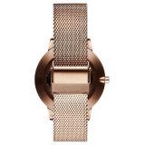 Nouveau design en acier inoxydable Elegent Ladies Quarts Wrist Watch