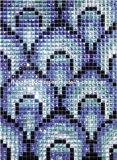 ガラスモザイクミラーのダイヤモンドのモザイク模様(HD030)