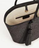 Nuovo Trendy Woven Straw Tassel Handbag per Lady