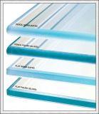 vidro temperado de 3-19mm com furos/logotipo/bordas Polsihed/tamanhos cortados