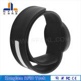 Wristband portable del silicón de la palmada RFID para la playa de baño