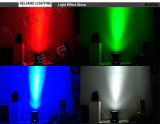 25X10W無限マトリックスの視覚を妨げるものRGBW LEDの移動ヘッドDJはつく