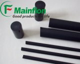 Teflon noir Rods de PTFE