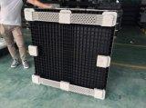 Contenitore di grandi dimensioni di plastica standard australiano di piegatura resistente all'australiano