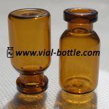 2ml Amber Tubular Glass Vial für Medical