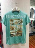 남자 스포츠 착용 의류에 있는 적당한 t-셔츠를 인쇄하는 다른 색깔 및 고품질