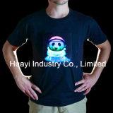 T-shirts d'EL Lumineux de DEL