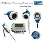 Smart High Precision 4-20mA Transmissor de temperatura montado com flange cervical