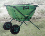 Two Wheels Folding Fabric Plateau Epicerie Consumer Shoppers Bagage Barrow / Trolley / Cart