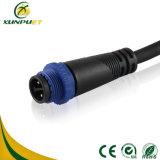 Привинчены/сварена линия 3 винта регулирования положения сердечника электрический кабельный соединитель PVC Pin