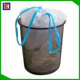Biodegradable plástico bolsa de basura Drawstring