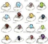925 Silver Австрия Crystal кольцо (2526)