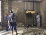De nieuwste Bespuitende Machine van het Pleister van de Muur van de Concrete Pomp Automatische voor het Teruggeven van de Bouw