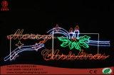 Lumière de décoration de vacances de Noël de la bougie DEL