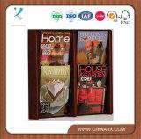 2 Niveles 4 Pocket titular de la literatura de la madera de pared