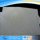 Tijolo de gesso PVC Teto / Teto de gesso laminado de vinil