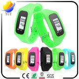 Pulsera inteligente personalizada para podómetro y podómetro de goma y reloj inteligente Bluetooth